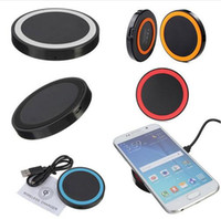 Wireless Charger pads factory - Factory hot sale Qi wireless charging Pad charger with USB port universal battery incharge for IOS and Android