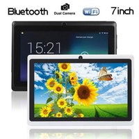 """Wholesale Kit Camera 3g - Quad Core 1gb Red 2016 7"""" Inch A33 Android 4.4 Kit Kat 8gb Tablet Pad Pc Wifi Bluetooth Camera"""