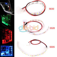 Wholesale WATERPROOF SMD LED CM CM Flexible PC Computer Case Adhesive Strip Light