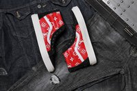Wholesale Mens Hi Top Shoes - Original High Tops SK8-Hi Canvas Shoes Cheap Classic White Black Red For Women And Mens Skateboarding Sneakers Casual Shoes