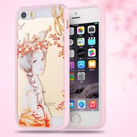 3D Fashion Colorato disegno o modello goffrato diamante + Custodia Cover Pink Frame carino per iPhone 5 5S SE Protection Shell