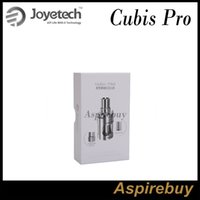 Wholesale atomizer for evic for sale - Group buy Joyetech CUBIS Pro Atomizer Cubis Pro Tank ML with New QCS LVC Head Innovative Cup Design for eVic VTwo Mod Mini Mod Original