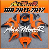 Addmotor Big Sale Injection Mould Plastic Fairings Pour Kawasaki 2011-2016 ZX-10R 11-16 ZX 10R Body Work Orange Noir K1914 + 5Free Gifts