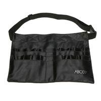 Wholesale Professional Make Up Belts - Protable Cosmetic Makeup Brush PVC Apron Bag Artist Belt Strap Professional Make up Bag Holder H9884