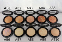 Wholesale English Skinfinish - New Makeup Mineralize Skinfinish Powder Foundation 10g All English Name Have 10 Different Colors