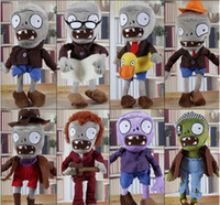 Wholesale Plush For Sale - 30CM Plants vs Zombies Soft Plush Toy Doll Game Figure Statue Baby Toy for Children Gifts Party toys Hot sales