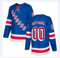 Wholesale Rangers Sports - 2018 nhl hockey jerseys cheap New York Rangers White Authentic Custom Jersey store usa sports ice hockey blank personalized wholesale kid AD