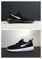 Wholesale Cheapest Rubber Flooring - Cheapest with top quality sport discount womens mens running shoes brand fashion light men trainers Air ros run woven sneakers