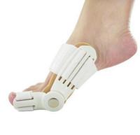 ortopedik ayak bunyonu toptan satış-Bunion Cihaz Halluks Valgus Pro ortopedik Parantez Toe Düzeltme Ayak Bakımı Düzeltici Başparmak Goodnight Günlük Büyük Kemik Ortez