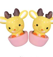 Wholesale Rose Tea Cups - Kawaii Deer Squishy Tea Cup Super Slow Rising Sweet Cream Scented Decompression Squeeze Toys For Kids Doll Gift Fun KKA2796