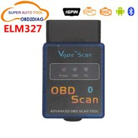 Wholesale ELM327 Vgate Scan Advanced OBD2 Bluetooth Scan Tool Support Android And Symbian Software V2 High Quality