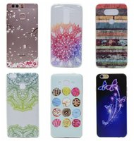 Wholesale Iphone Tribe - Tribe Floral Paisley Flower Lace Soft TPU Skin Case For LG G5 K7 For Huawei P9 Lite Galaxy Grand Prime G530 For iPhone 6 6S Plus SE 5 5S