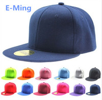 Ball Cap Unisex Spring & Fall Designer Plain Hip Hop Hats Adjustable Snapback Custom Embroidery Printing Logo Blank Flat Brimmed Baseball Caps For Adults Mens Womens Sale