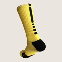 Wholesale Thick Soled Socks - new style high quality dry-fit elite mans thick cushion sole basketball socks hot selling sports socks