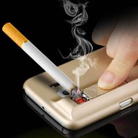 Wholesale Cheap 5s Cases - Characteristic Cell Phone Cases With Electronic Cigarette Lighter For iPhone 5S SE 6 6s 6Plus PC Back Cover Protector 2016 cheap whosale