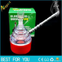 Wholesale Injector Clean Machine - electric smoking pipe shisha hookah mouth tips cleaner snuff snorter sniff vaporizer rolling machine injector metal herb grinder wholesale