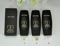 Wholesale Whitening Creme - Makeup Foundation PREP PRIME BB beauty balm SPF 35 Creme 30ml 3 colors +gift.