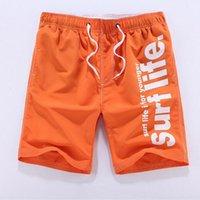 Wholesale Resort Wear Xl - Wholesale-Hot Sales Bermuda Surf Shorts Men Board Short Pants Summer Beach Resort Wear Quick Dry Silver Big Size L XL XXL 3XL 4XL 5X