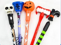 neuheit kugelschreiber groihandel-DHL SF_Express halloween kugelschreiber 0,5mm blau Refill kürbis schädel rens Neuheit Spielzeug neupreis