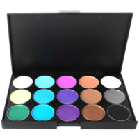 Wholesale Volumizer Mascara - professional makeup set, 15 colors matte eyeshadow palette, 7 sizes makeup brushes,11ml Mascara Volumizer For women