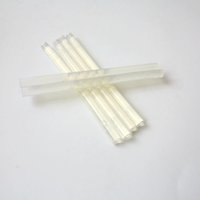 Wholesale white hair glue for sale - 5Pcs Black Transparent White Genuine Italian Keratin Glue Stick Strong Keratin Glue Grain Glue For Fusion Hair
