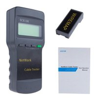 Wholesale Lcd Rj45 Cable Tester - High Quality Portable Multifunction Wireless Sc8108 LCD Digital PC Data Network CAT5 RJ45 LAN Phone Meter Length Cable Tester Meter