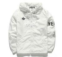 Wholesale Free Freight - Free freight Y3 YEEZUS hip hop Jacket KANYE skate board Windbreaker TOUR Men Women Streetwear Fashion uniform coat black White Jacket.