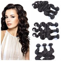 Wholesale Discount Malaysian Weaving Hair - Brazilian Human Hair Weave Body Wave High Fidelity Discount Hair Extensions G-EASY Unprocessed 100% human hair Natural Color