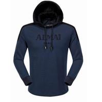 Wholesale Designer Fashion Hoodies - New streetwear Brand designer Sweatshirt Men Hoodies Fashion Solid Fleece Hoodie Mens Sports Suit Pullover Mens Tracksuits