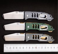 Wholesale Three wooden official authentic outdoor multi function pocket knife blade folding camping knife self defense portable camping tool bag mail
