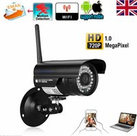 Wholesale wireless network outdoor for sale - Outdoor Wireless WiFi P HD IP Network CCTV Security Camera IR Night Vision