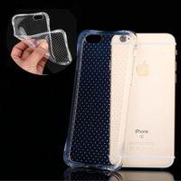 Wholesale S4 Slip Case - Ultra-Thin Transparent Anti-slip Waist Style Soft TPU Crystal Gel Case For iphone 4s 5 5s SE 6 plus Samsung Galaxy S3 S4 S5 S6 edge plus
