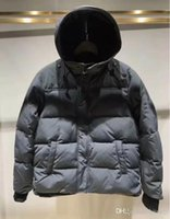 Wholesale Dark Green Coat Men - Canada New Arrival sale men's Down parka Macmillan Black Navy Gray Jacket Winter Coat  Parka Fur sale With Free Shipping Outlet