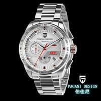 Wholesale Diving Analog Sports Watch - 2018 luxury watchWatches men luxury brand Multifunction Pagani Design 2641 quartz men sport wristwatch dive 30m military watch relogio mascu