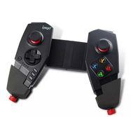 ps2 беспроводной игровой контроллер оптовых-Новый IPEGA PG - 9055 Красный Паук Беспроводная Связь Bluetooth Геймпад Телескопический Игровой Контроллер Игровой Джойстик Для Android IOS Tablet PC