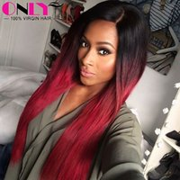 Wholesale Cheapest Indian Remy Hair Extensions - Peruvian Virgin Human Hair Bundles for Sale Cheapest Hair Extension Weaves 9a Indian Hair lots Red Hair Color Extension Human Hair per lot