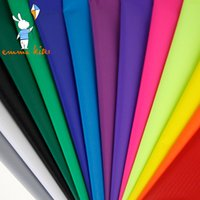 Wholesale Nylon Fabric Yard - Wholesale- 1.7 Yard Wide x 10 Yards Long PU Coated Outdoor Waterproof Nylon Fabric Bag Making Cloth Ultralight Ripstop Kite Tent Fabric