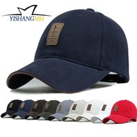 Wholesale Wholesale Sports Logo Hats - EDIKO And Golf Logo Cotton Baseball Cap Sports Golf Snapback Outdoor Simple Solid Hats For Men Bone Gorras Casquette Chapeu