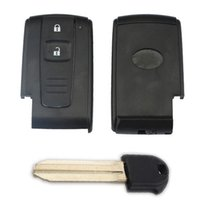 Wholesale toyota verso - 2 BUTTON REMOTE KEY CASE for TOYOTA PRIUS COROLLA VERSO + TOY43 BLADE