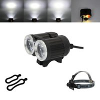 KC FIRE New Black USB Carregando duas lâmpadas 3000 Lumens Cree XM-L T6 LED Frontal Bike Light Front BL0005BU