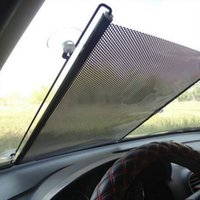 Wholesale Window Shade Film - Auto Accessories Retractable Side Window Car Sun shade Curtain Automatic Sunscreen roller Blinds Window Film Hot Selling