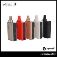 Wholesale add game - Joyetech eGrip II Kit Newly Added with Game Mode with Multiple LED Colors Joyetech eGrip 2 Kit 80W 100% Orginal Free Shipping