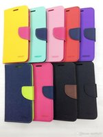 Wholesale S3 Mini Wallet Phone Covers - Korea Style Mercury Fancy diary Luxury Wallet Leather Pouch For Samsung Galaxy S2 S3 S4 S5 I9600 S4 Mini TPU credit Phone Cover