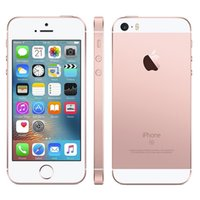 Wholesale Dual Sim Card Cellphones - Refurbished Apple iPhone SE 64GB 4.0 inch Retina Screen 1136*640 iOS 11 Dual Core A9+M9 12.0MP Camera Single Nano-Sim Card Smartphone