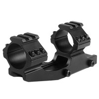 Wholesale Rifle Cantilever Scope Mounts - Quick Release 1inch  30mm Cantilever Forward Reach Dual Ring Rifle Scope Mount