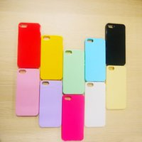 Wholesale Rubber Backed Material - Thin Slim Cute Soft Colorful Candy Silicone Rubber Material Gel Tpu Soft Back Case Cover For Iphone 5 5s Shockproof Phone Bags