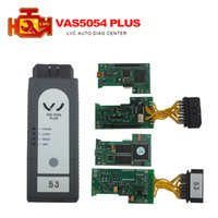 Wholesale Scanner Vw Vas - Wholesale-DHL Free Shipping VAS 5054A Plus ODIS 2.2.4 scanner auto diagnostic tool for aud vw skoda seat vas5054 Super scanner