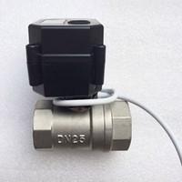 Wholesale Wholesale Valve Price - Wholesale price ,BSP thread Motorized Ball Valve 2 way G1 2 DN15 (reduce port), electric ball valve, Stainless steel motorized valve