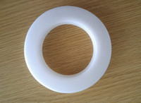 Wholesale Color Grommets - High quality white color decoration curtain accessories plastic rings eyelets for curtains