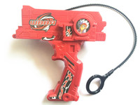 Wholesale Spin Top Launchers - Red Blue Black Launchers Double Tops Launcher For Beyblade Top Novelty New Beyblade Launcher For Spin Top Toy without beyblade